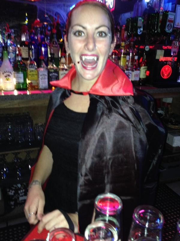 Halloween at the Cadillac Ranch Restaurant