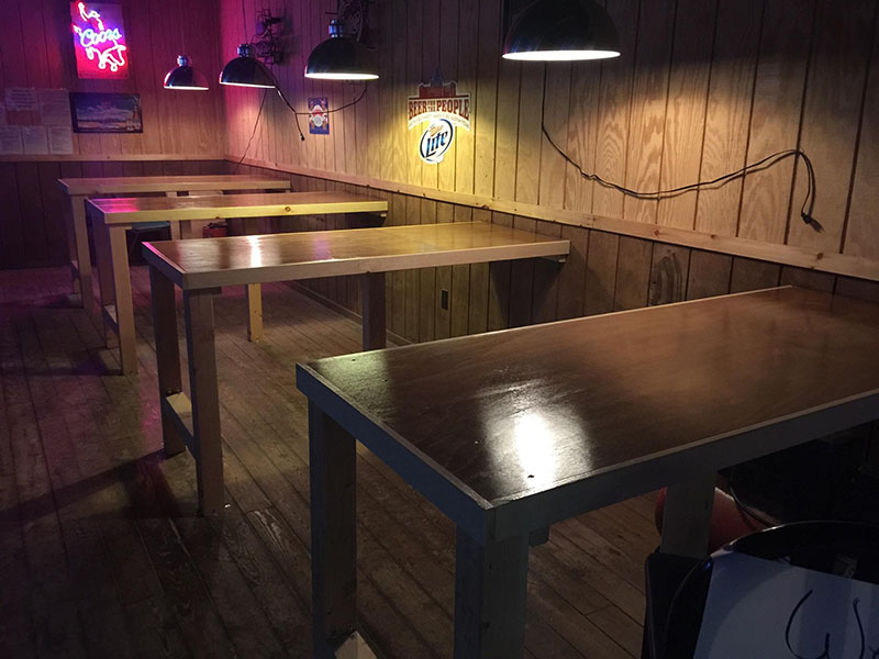 new tables Cadillac Ranch Restaurant