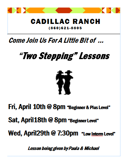 Two Step Lessons - April 2015