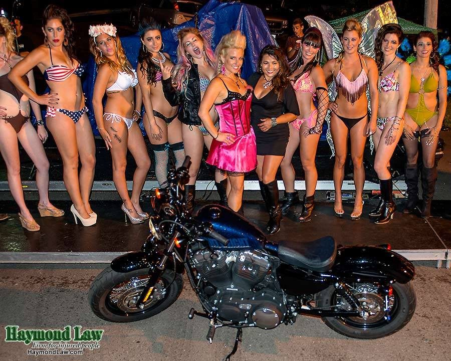 Rock and Roll Bikini Fashion Show