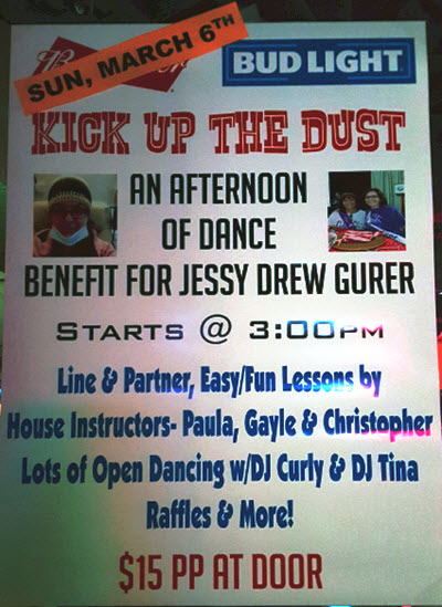 Kick the dust up - Jessy Drew Gurer
