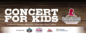 St. Jude Concert for Kids 2017 @ Cadillac Ranch | Southington | Connecticut | United States