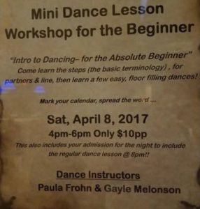 Mini Dance Lesson Workshop for the Beginner @ Cadillac Ranch | Southington | Connecticut | United States