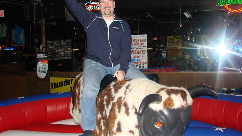 Cadillac Ranch Mechanical Bull